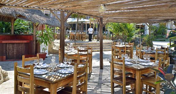 Hotel Caribbean restaurant