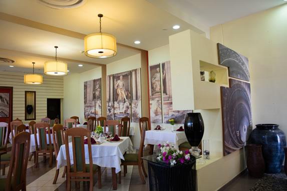 Hotel restaurant interior