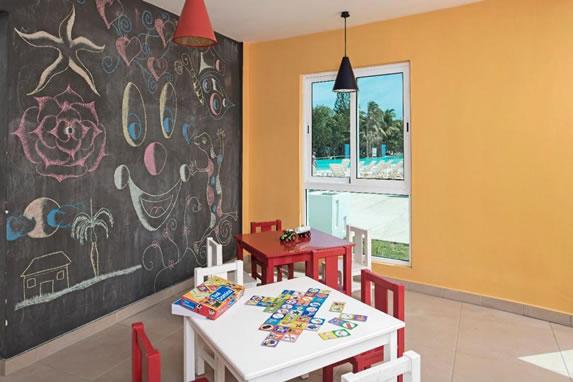 Children's room at the Bella Vista hotel