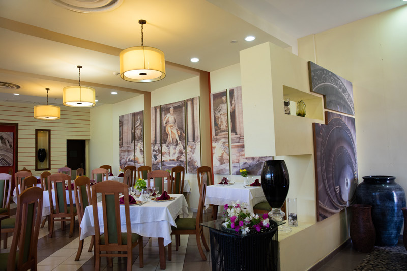 View of one of the hotel restaurants