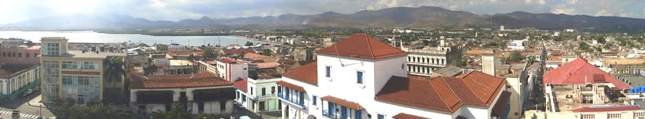 Santiago de Cuba Panoramic View