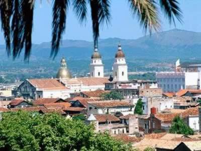 Vista de Santiago de Cuba