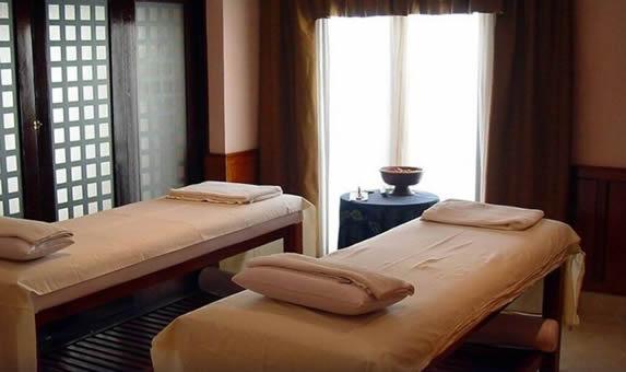 Spa en el hotel Saratoga