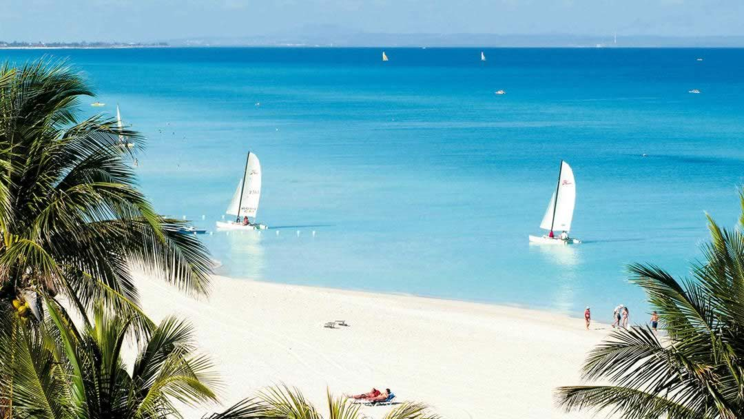 Varadero, Cuba - View of beach