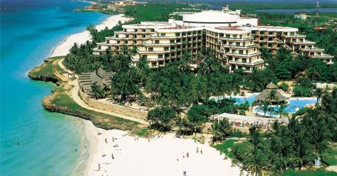 Vista aérea del Hotel Melia Varadero, Cuba