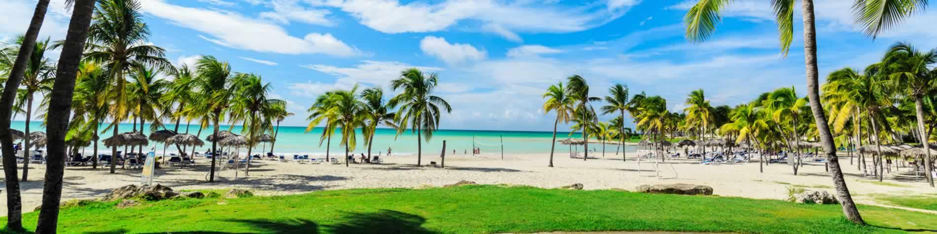 View of the beach at Paradisus Varadero resort