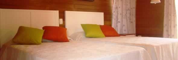 Habitación del Hotel Villa Iguana, Cayo Largo,Cuba