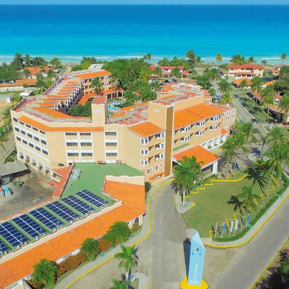 Aerial view of Las Morlas hotel