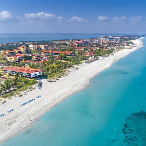 Vista aérea del hotel Sol Varadero Beach