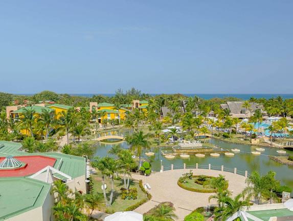 Melia Las Antillas hotel view