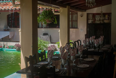 Restaurant Casa Austria, Camaguey,Cuba