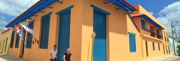 Hotel Encanto Caballeriza facade, Holguín, Cuba