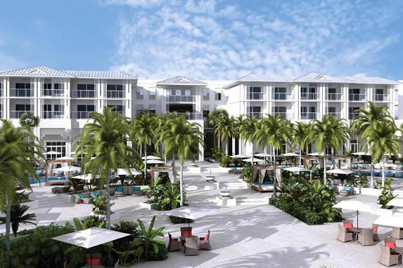 Piscina del hotel Angsana en Cayo Santa Maria