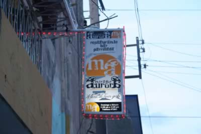 Restaurant Mirador de aurora,Holguín, Cuba
