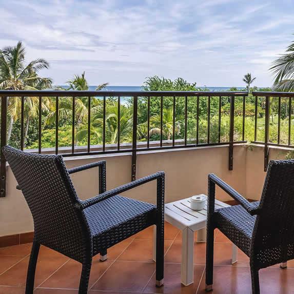 Los Cactus hotel room with balcony