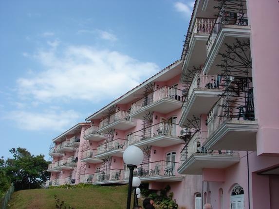 balcones de las habitaciones