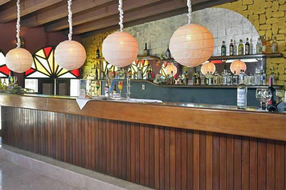 Bar of the hotel Sol Rio de Luna y Mares