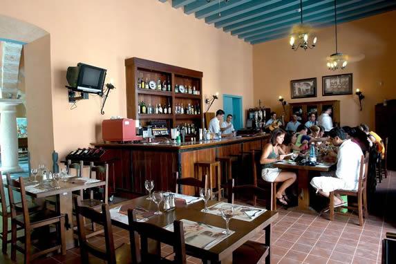 Cuban hotel restaurant
