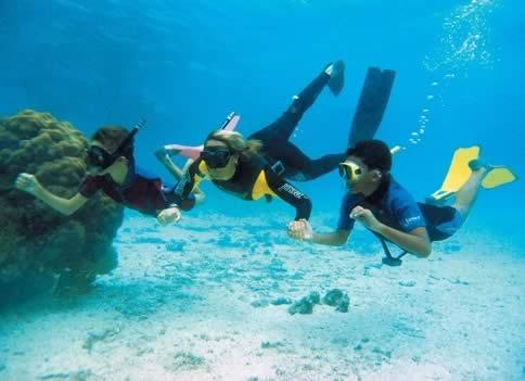 buceo en los arrecifes de coral, Camaguey, Cuba