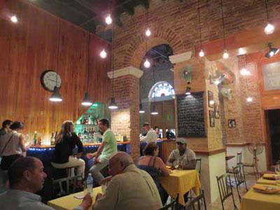 Café de los artistas, La Habana, Cuba