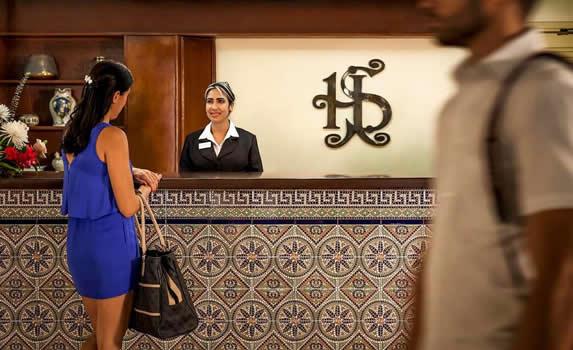 Sevilla hotel reception