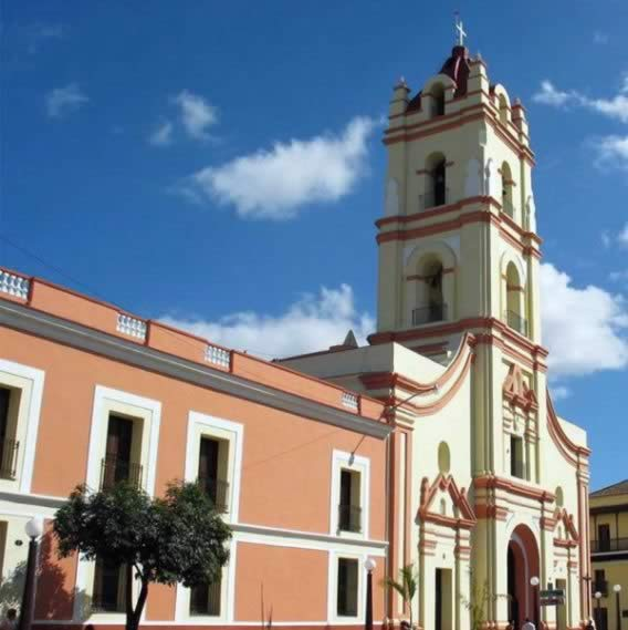 Camaguey's Cathedral,Camaguey, Cuba