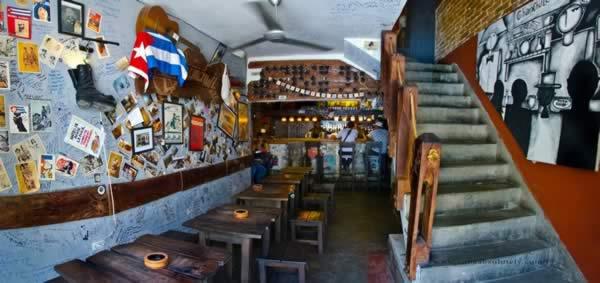 Restaurant El Chanchullero de tapas, La Habana.