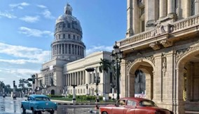 City tour of Havana, Cuba
