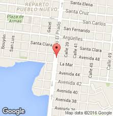 Restaurant Doña Nora, Cienfuegos, Cuba,map