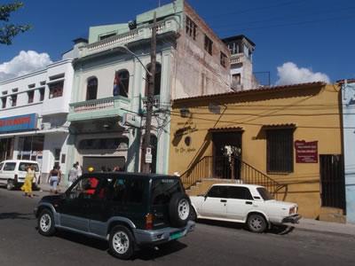 Patio de los dos abuelos, Santiago de Cuba, Cuba