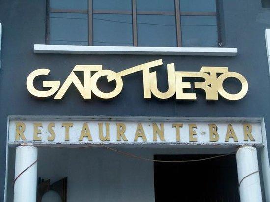 Bar restaurante El Gato tuerto, habana, Cuba