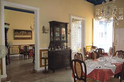 Restaurante El Dorado, Trinidad, Cuba