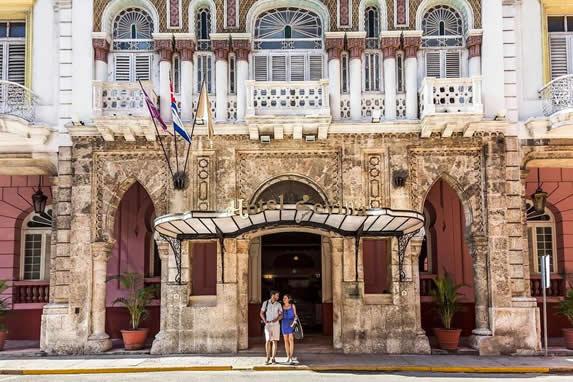 Sevilla hotel main entrance