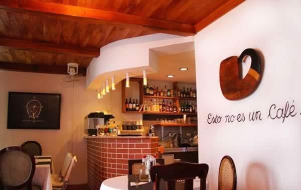 Restaurant Esto no es un café,La Havana, Cuba