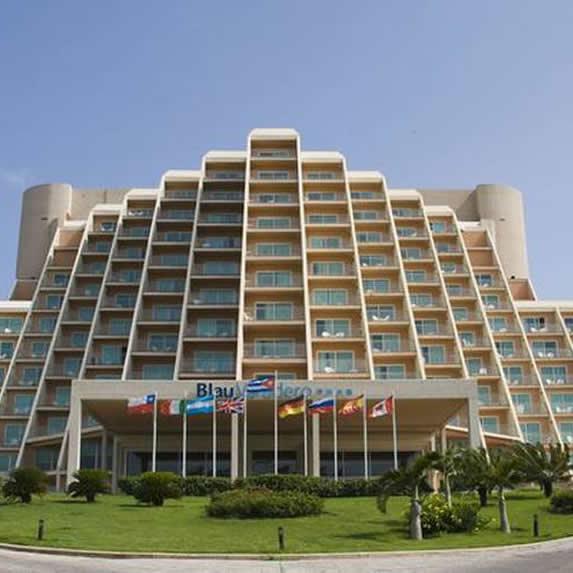 Vista de la fachada del hotel Blau Varadero