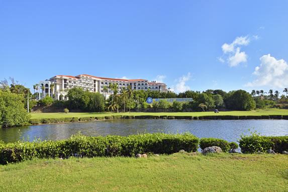 Golf of the hotel Melia Las Americas