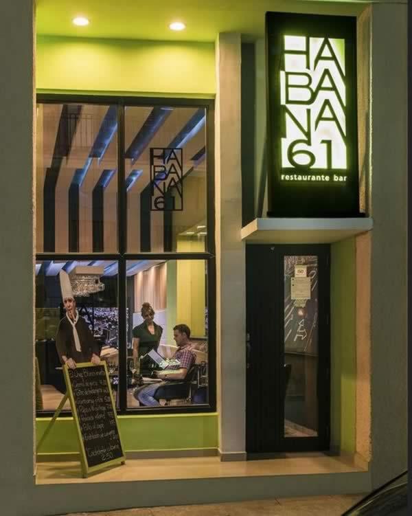 Restaurante Habana 61, Habana, Cuba