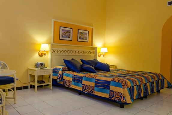 Standard double hotel room
