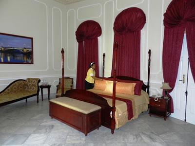 Hotel Encanto La Sevillana room, Camaguey, Cuba