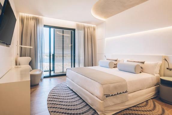 Vista de la habitación Junior Suite del hotel
