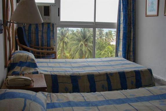 Habitación con vista al mar en el hotel