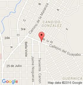 Restaurante La Herradura, Camaguey, Cuba,mapa