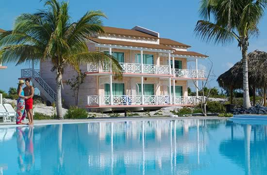 Hotel Sol Cayo Largo view from pool