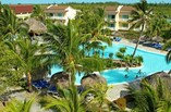 Hotel Sol Cayo Largo aerial pool view