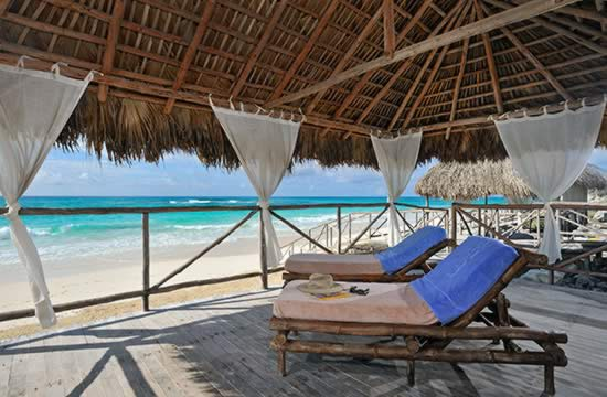 Hotel Sol Cayo Largo view to the beach
