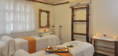 Spa del Hotel sol Rio De Luna Y Mares Resort
