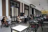 """""""El Louvre Café""""  Hotel Inglaterra"""