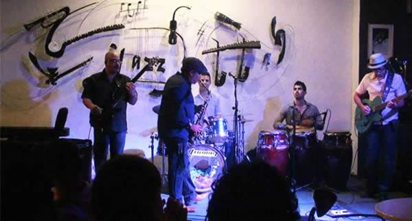 Jazz café, Havana, Cuba