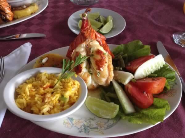 Restaurant La casa de chef,Varadero, Cuba