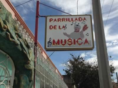 Restaurante La Parrillada de la música, Holguín